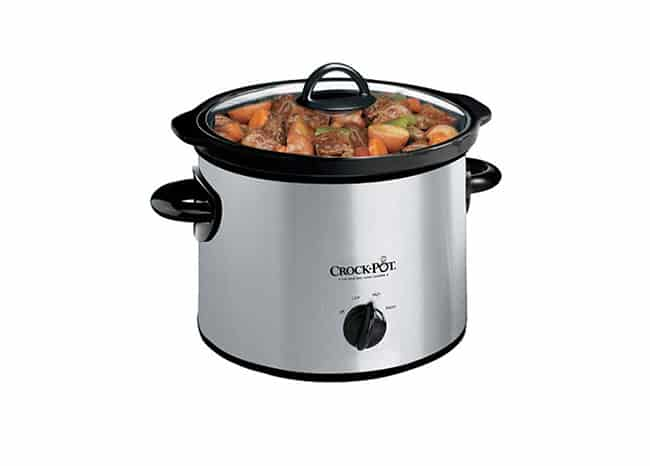 Crock-Pot SCR300SS 3-Quart Round Manual Slow Cooker Review And Details