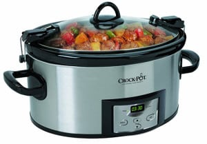 programmable cook and carry slow cooker