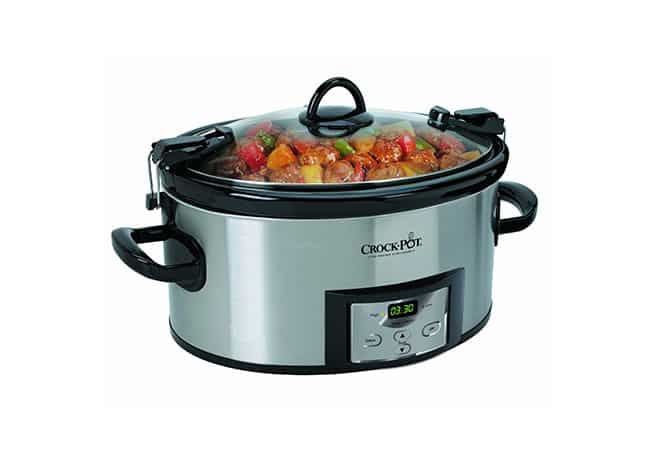 programmable slow cooker crock pot sccpvl610 s cooker review and details 30440