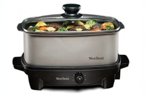 Quart Oblong-Shaped Slow Cooker